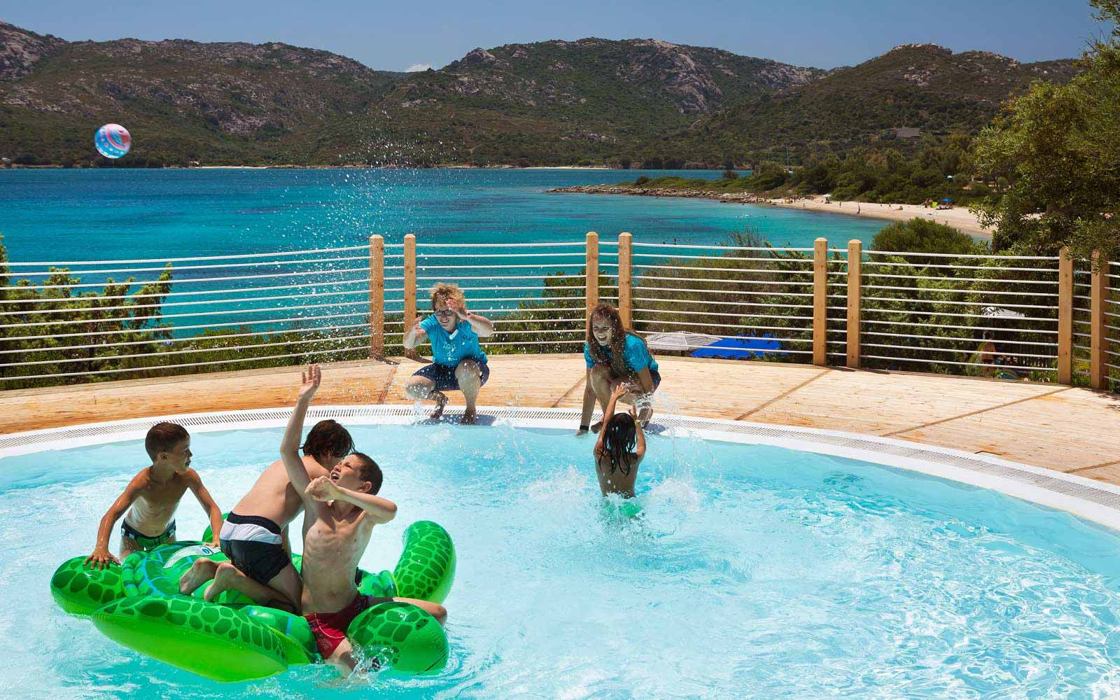 Children'spool at  Park Hotel & Spa Cala di Lepre
