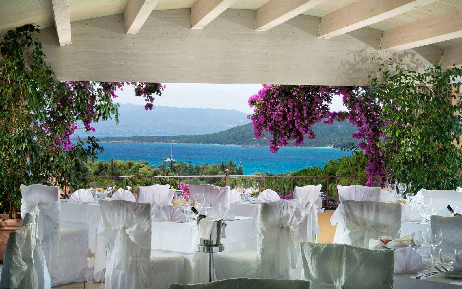 L'Arcipelago restaurant at  Park Hotel & Spa Cala di Lepre