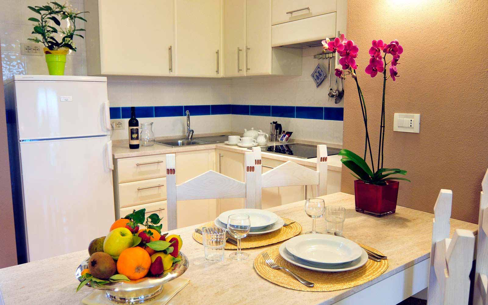 Kitchen at Lantana Resort Apartments