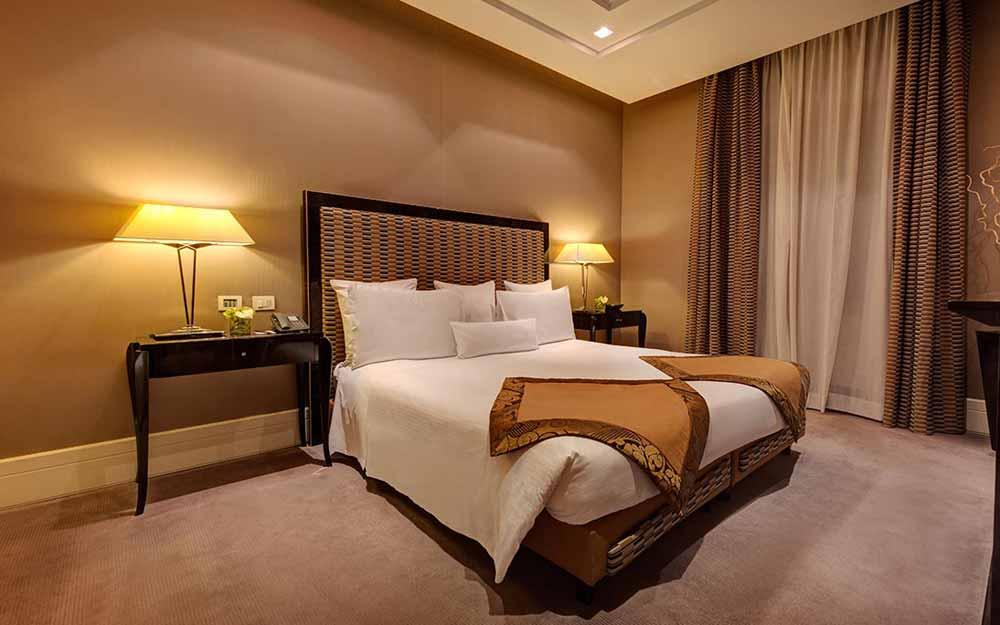 Junior Suite at the Grand Hotel Via Veneto