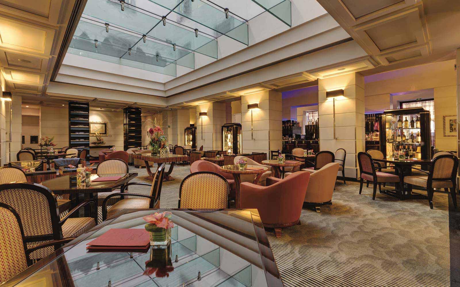 Lobby at the Grand Hotel Via Veneto