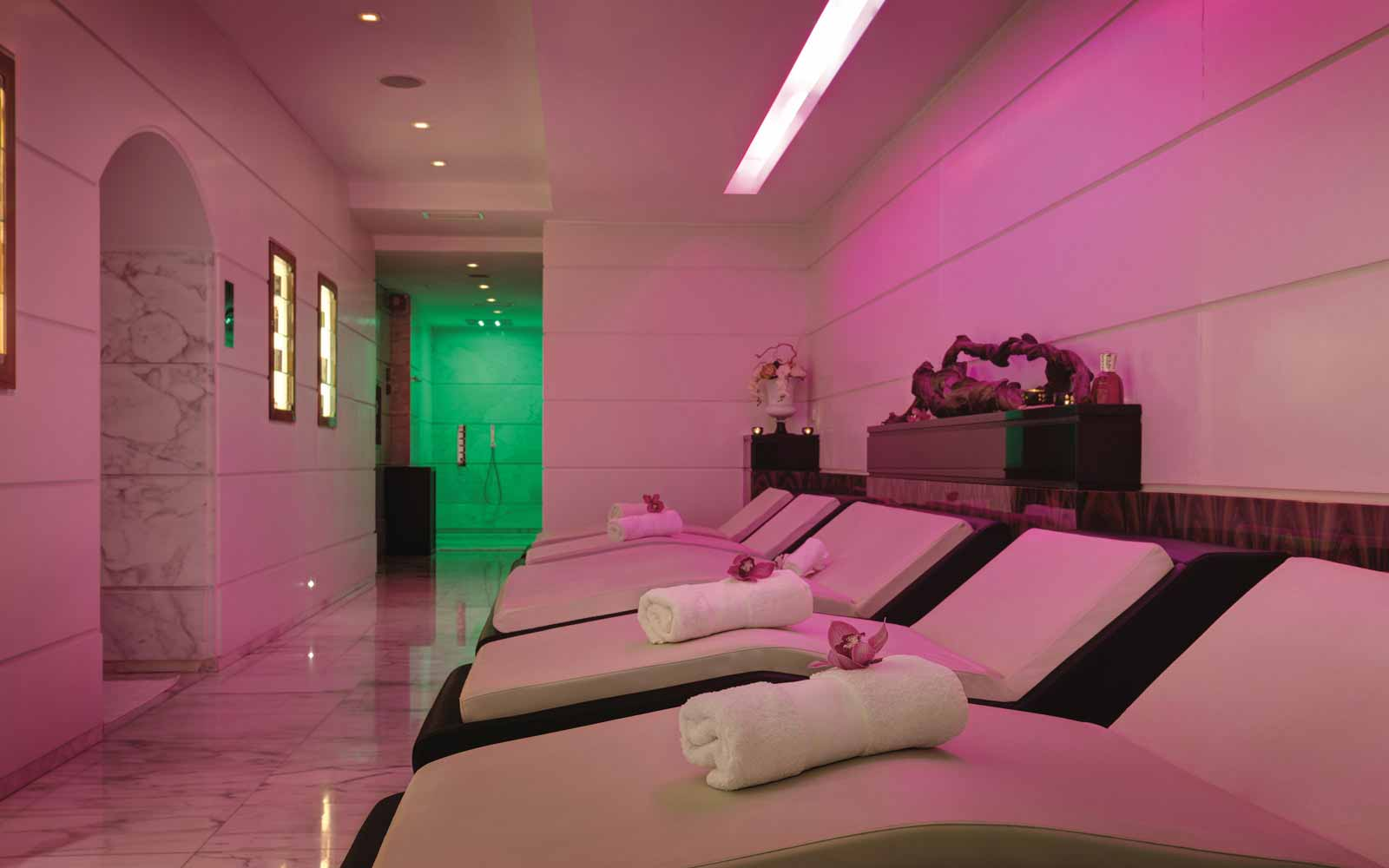 Aqva City Spa at the Grand Hotel Via Veneto