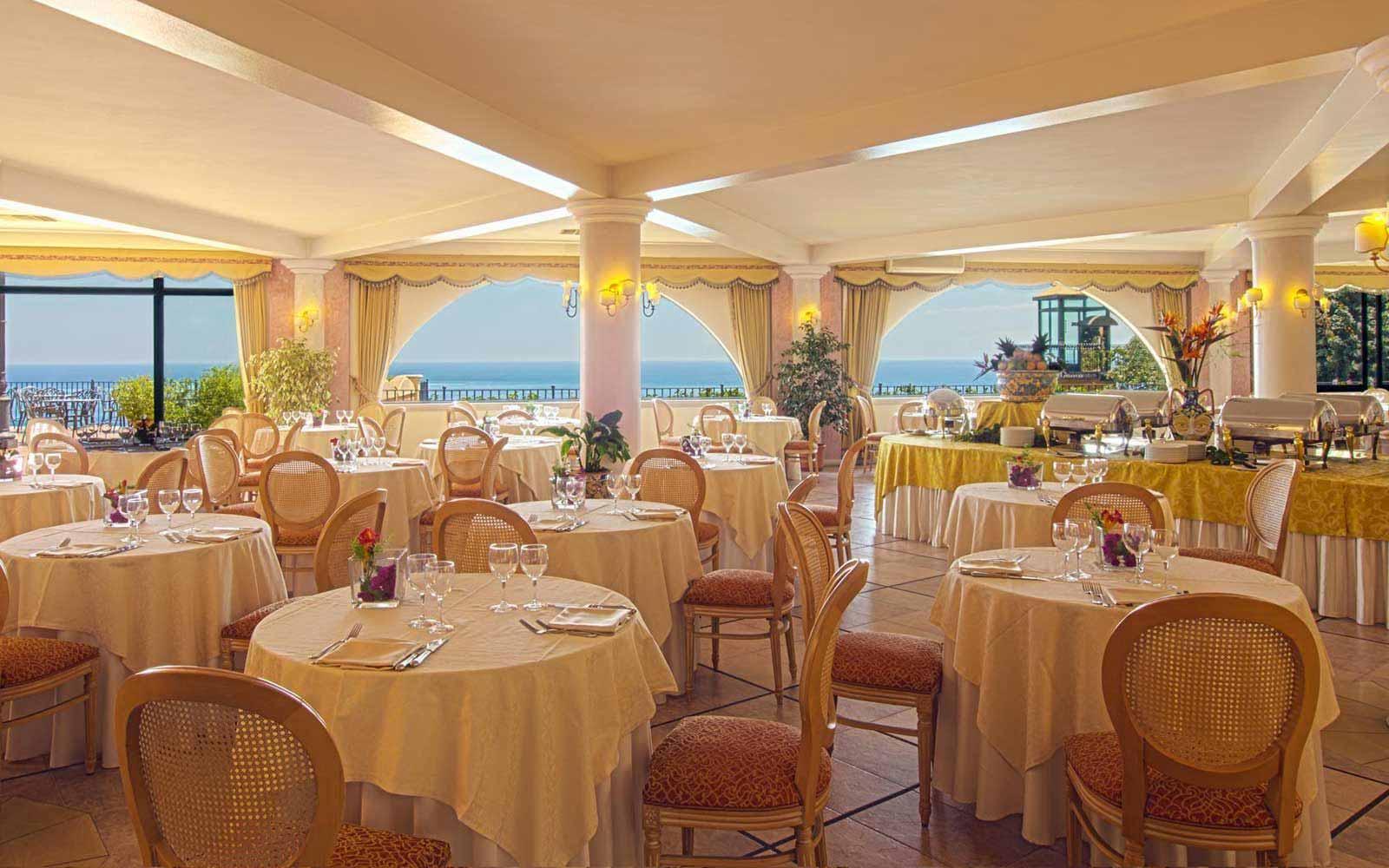 Solemoro Restaurant at Hotel Baia Taormina
