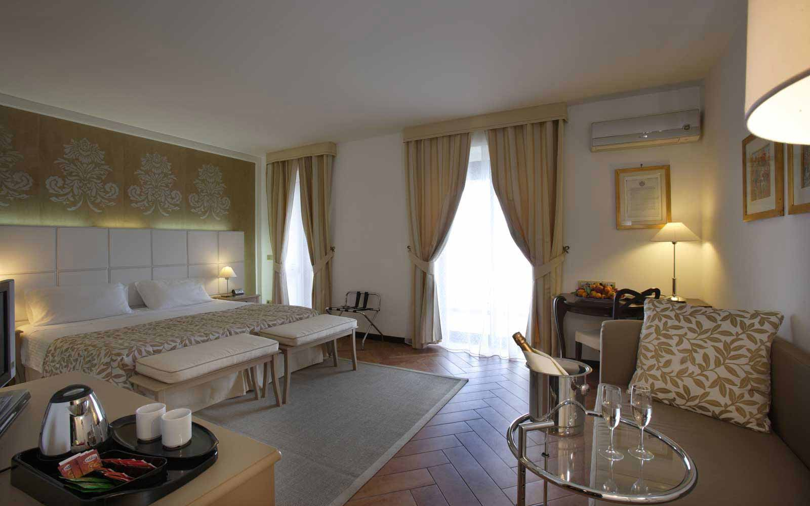 Junior Suite at Hotel Baia Taormina