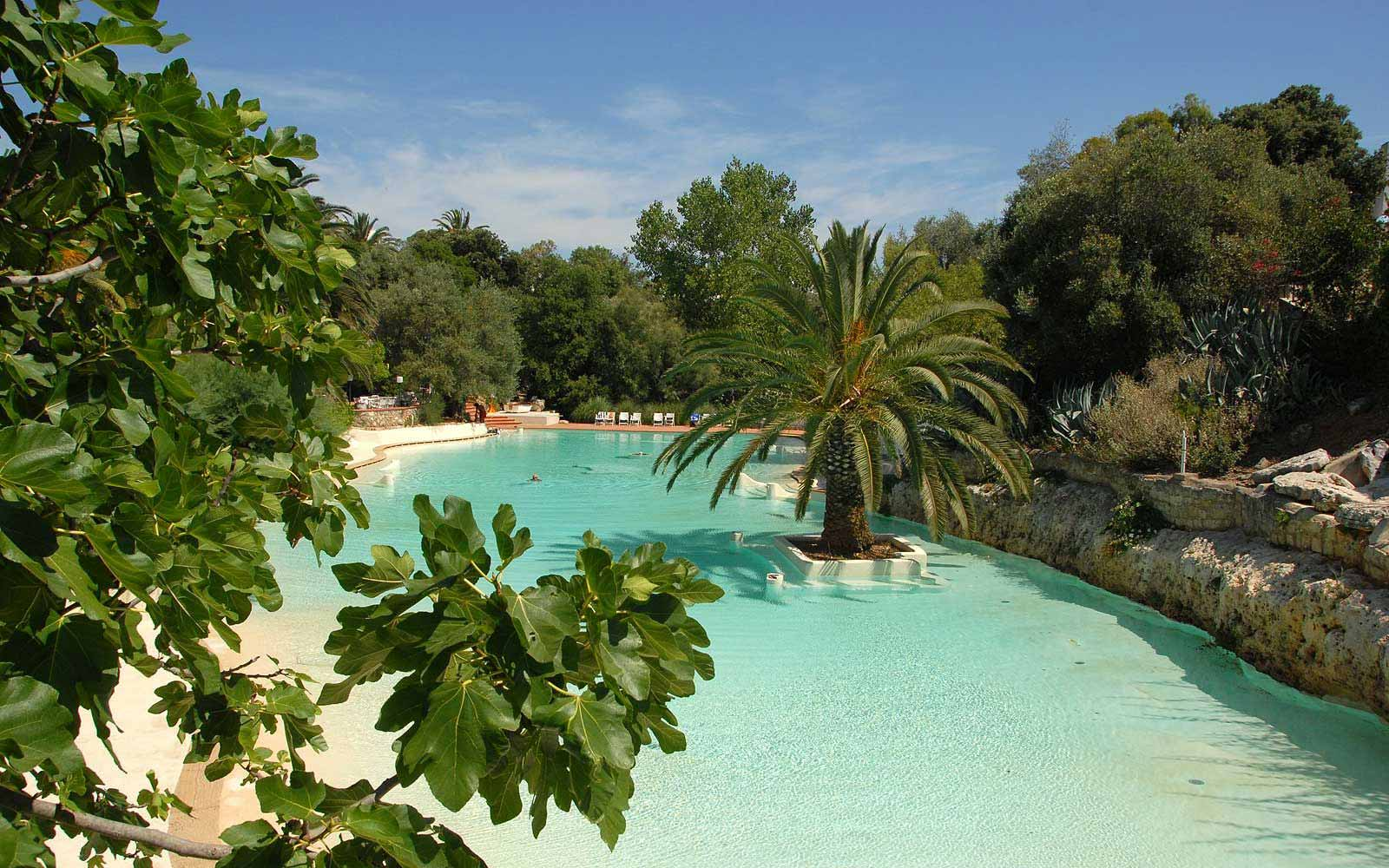 Swimming pool at the Ostuni Rosa Marina Resort