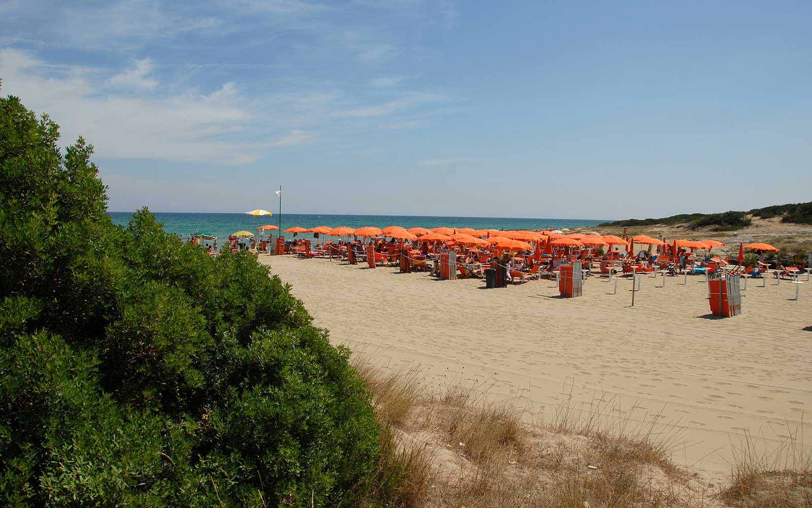 Beach at the Ostuni Rosa Marina Resort