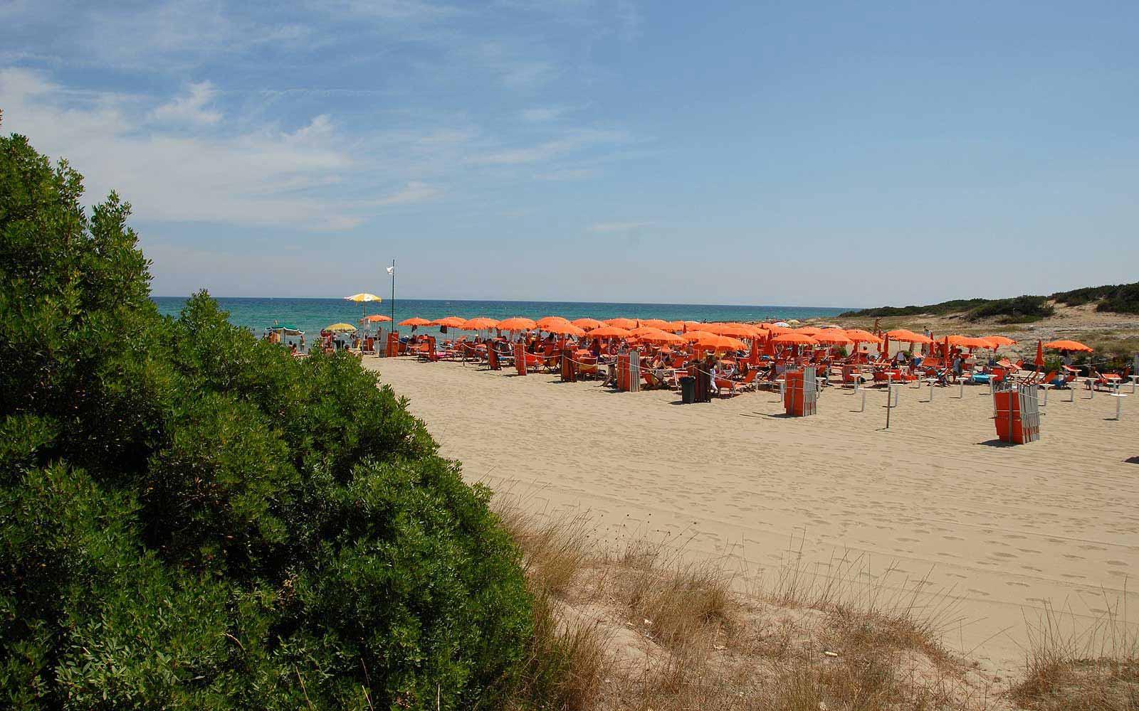 Beach at the Ostuni Rosa Marina Resort