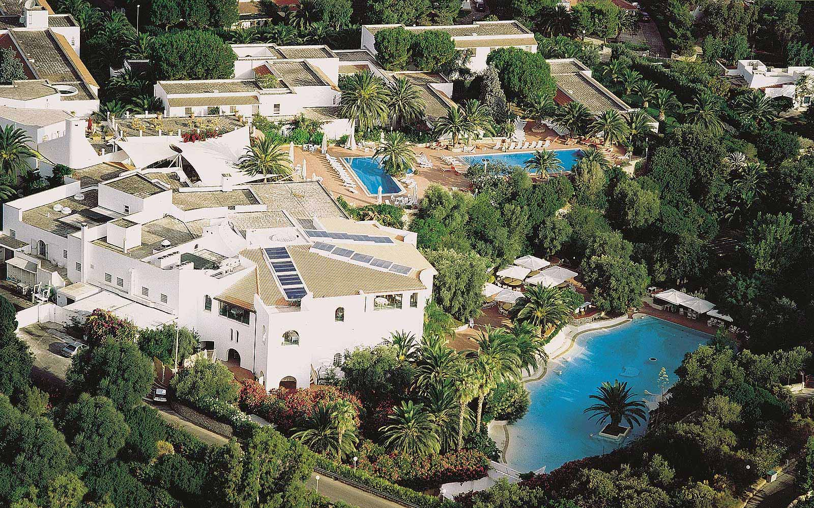 Panoramic view of the Ostuni Rosa Marina Resort