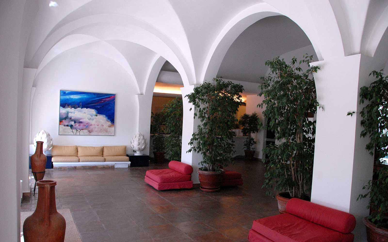 Reception at the Ostuni Rosa Marina Resort