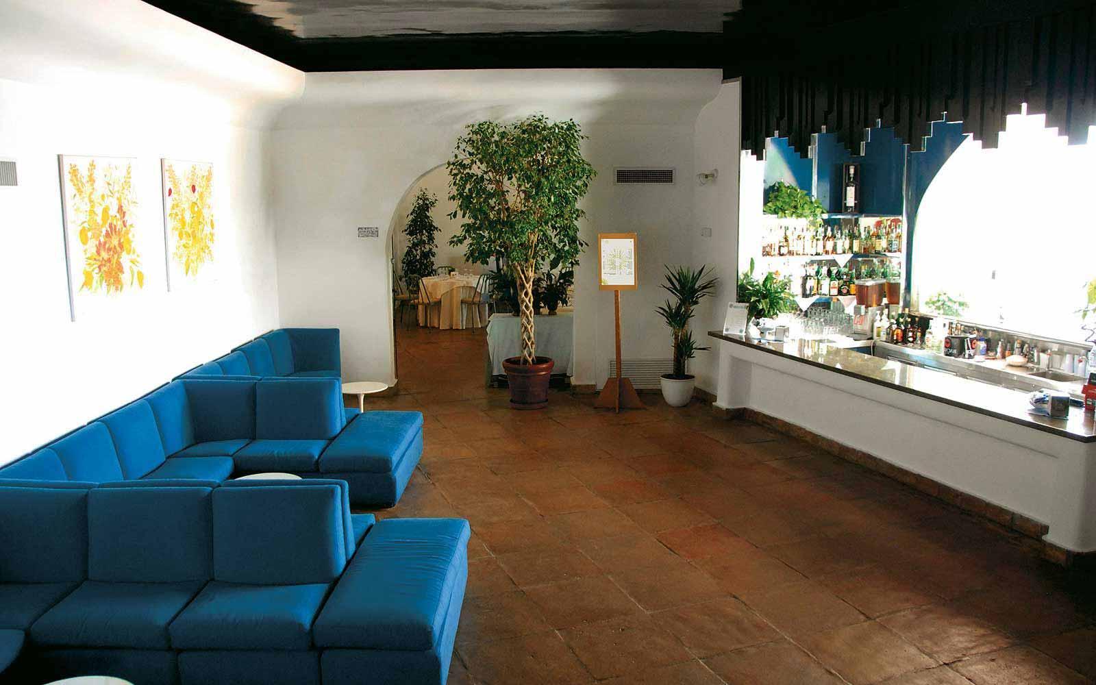 Indoor bar at the Ostuni Rosa Marina Resort