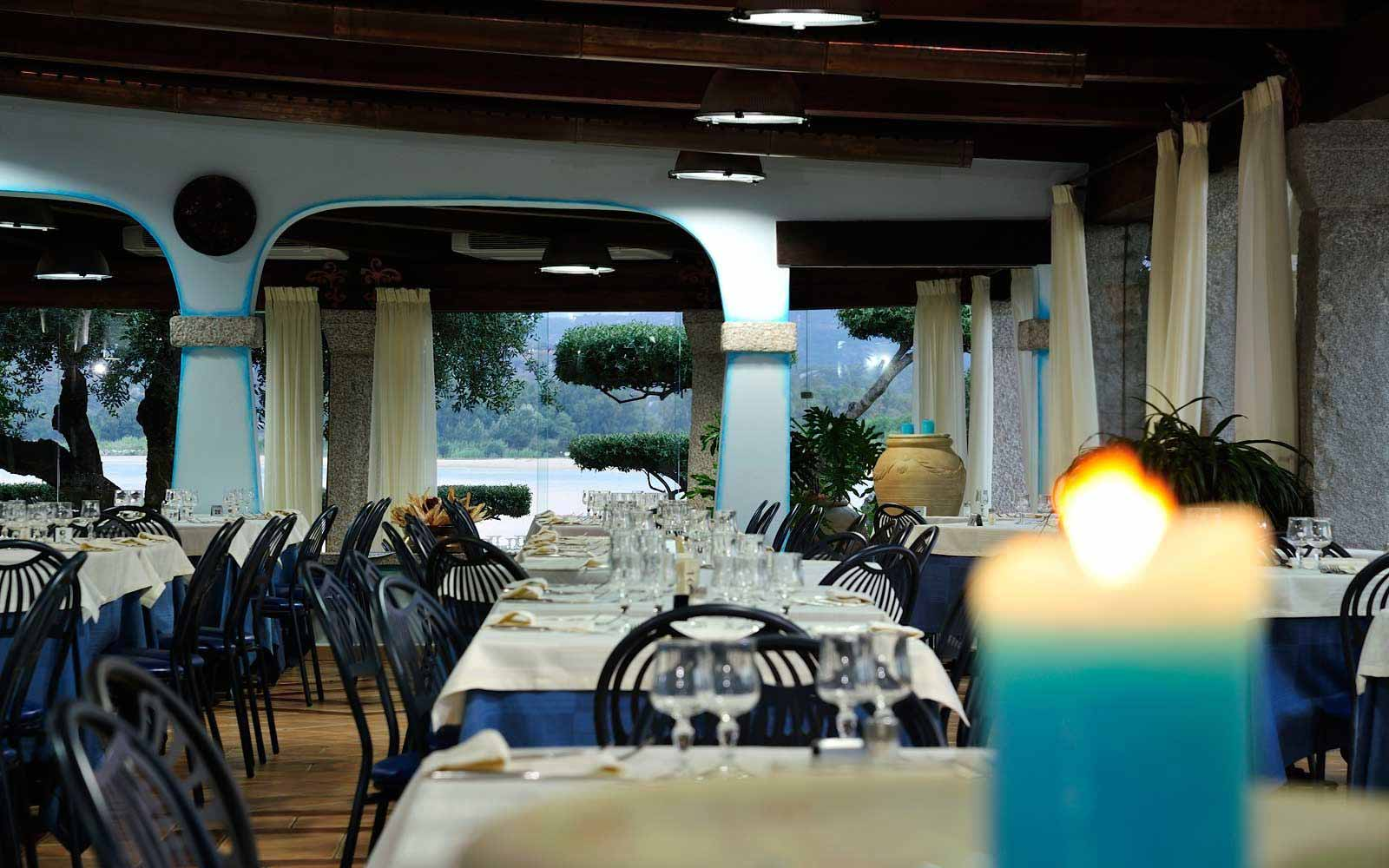 Restaurant at Hotel Club Saraceno