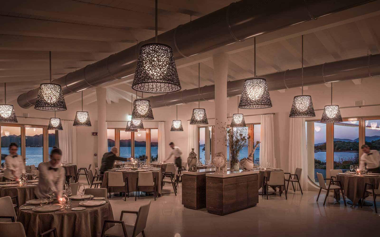 Asarena restaurant at Hotel CalaCuncheddi