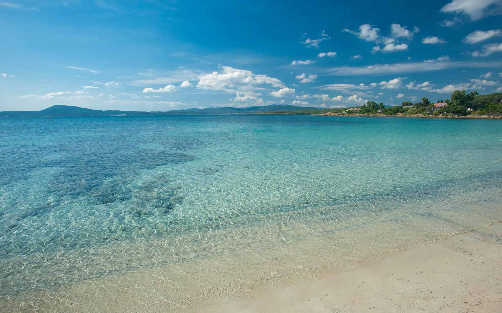Beautiful sea at the Pelican Beach Resort & Spa