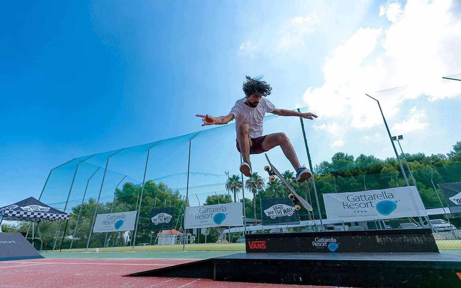 Skatepark at the Gattarella Resort