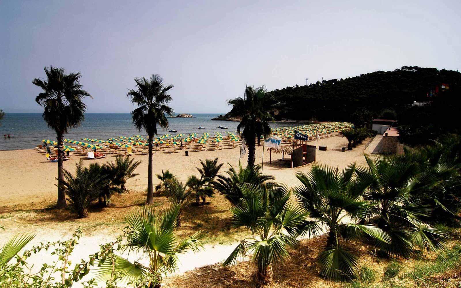 Beach at the Gattarella Resort