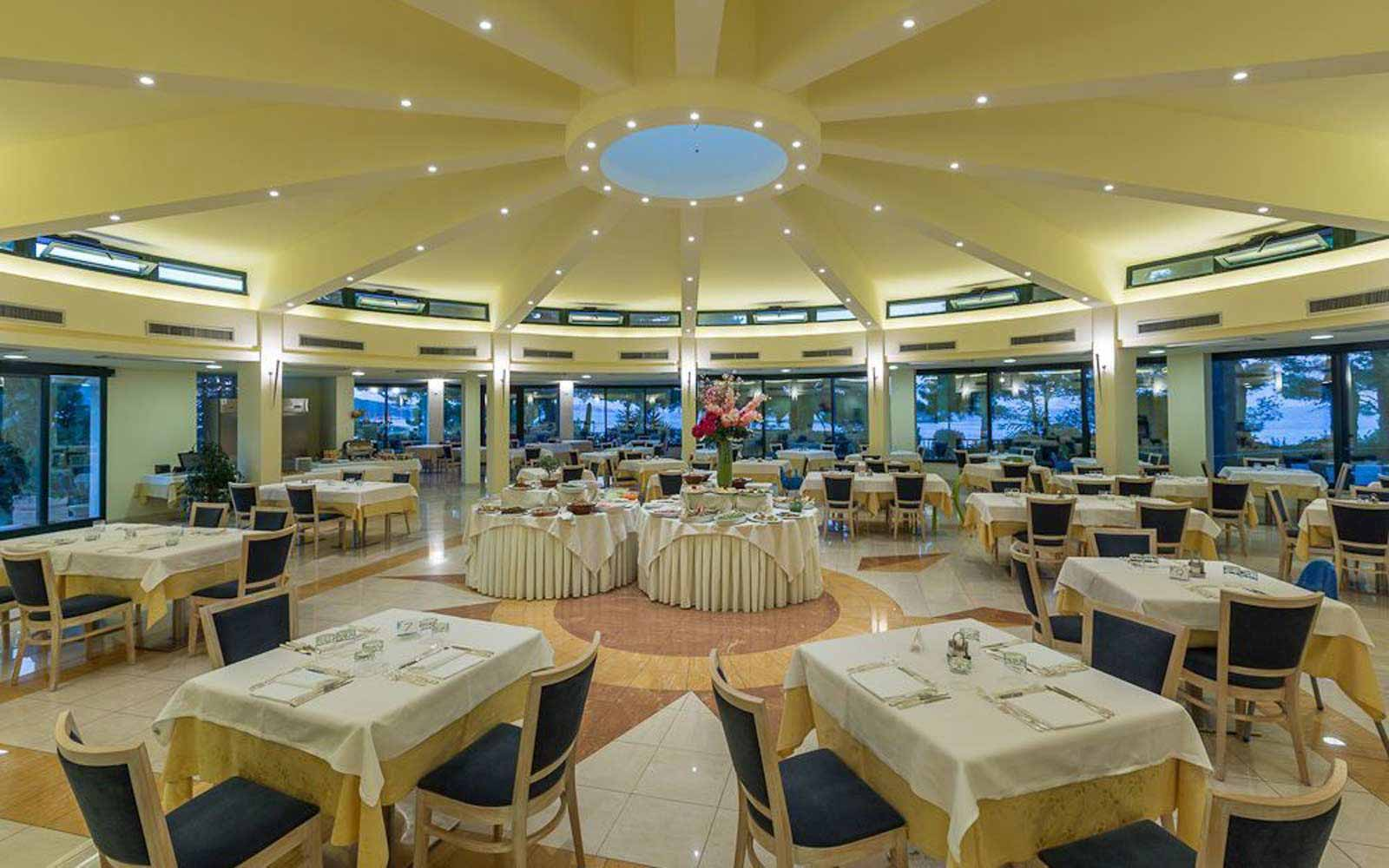 The Orcio restaurant at the Gattarella Resort