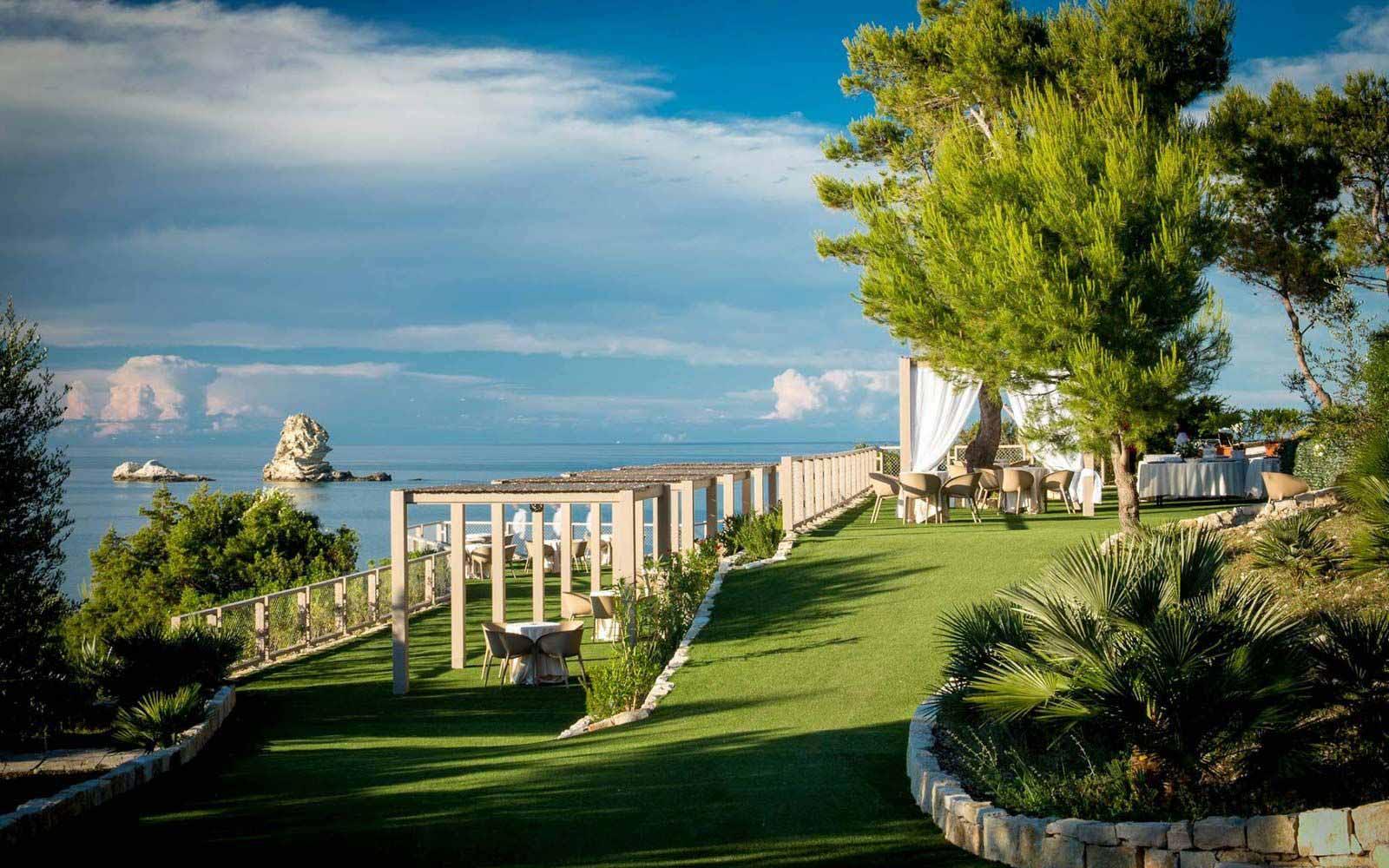 Gardens at the Gattarella Resort