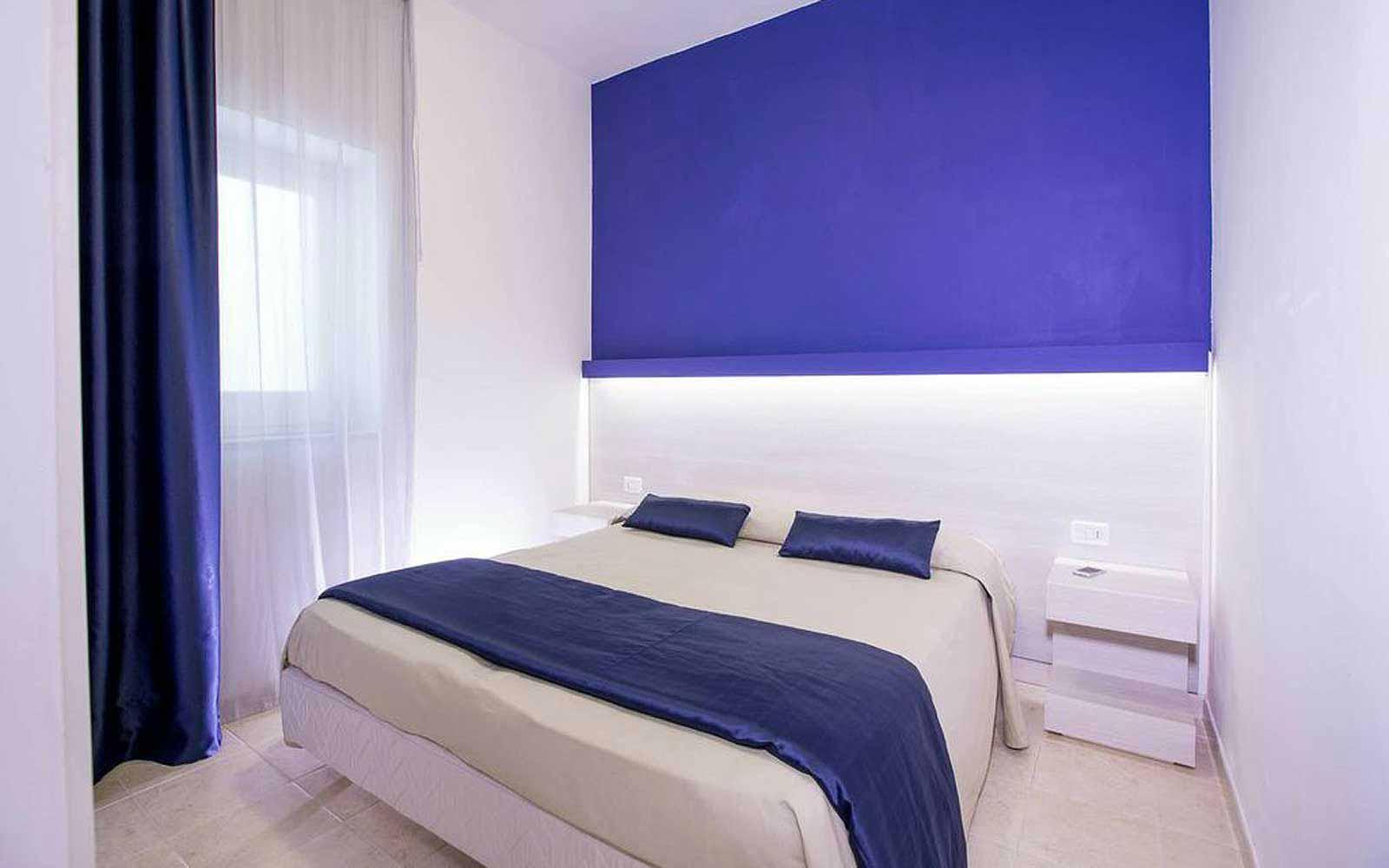 Family deluxe room at the Gattarella Resort