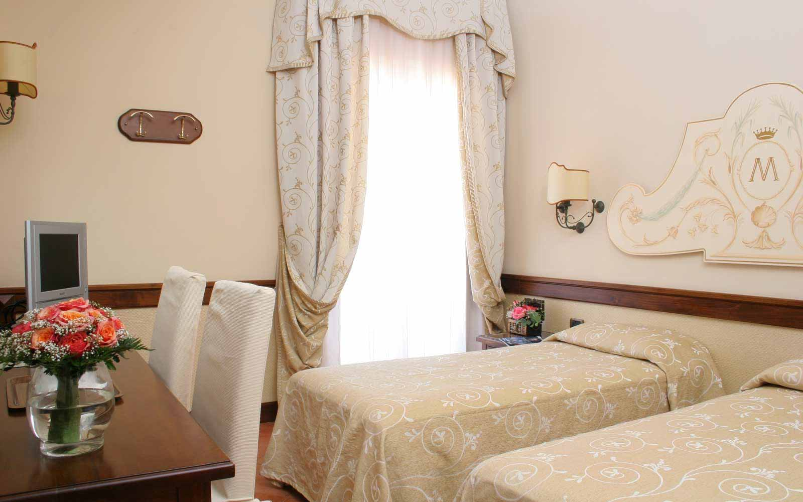 Standard room at Hotel Michelangelo