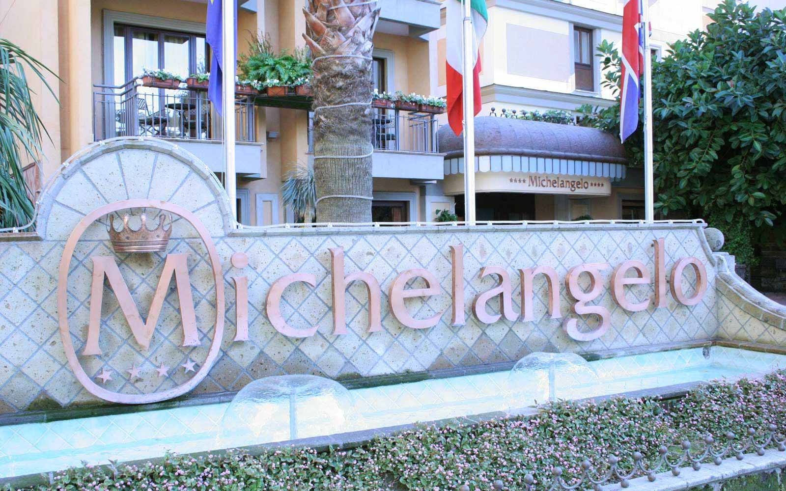 Front of Hotel Michelangelo