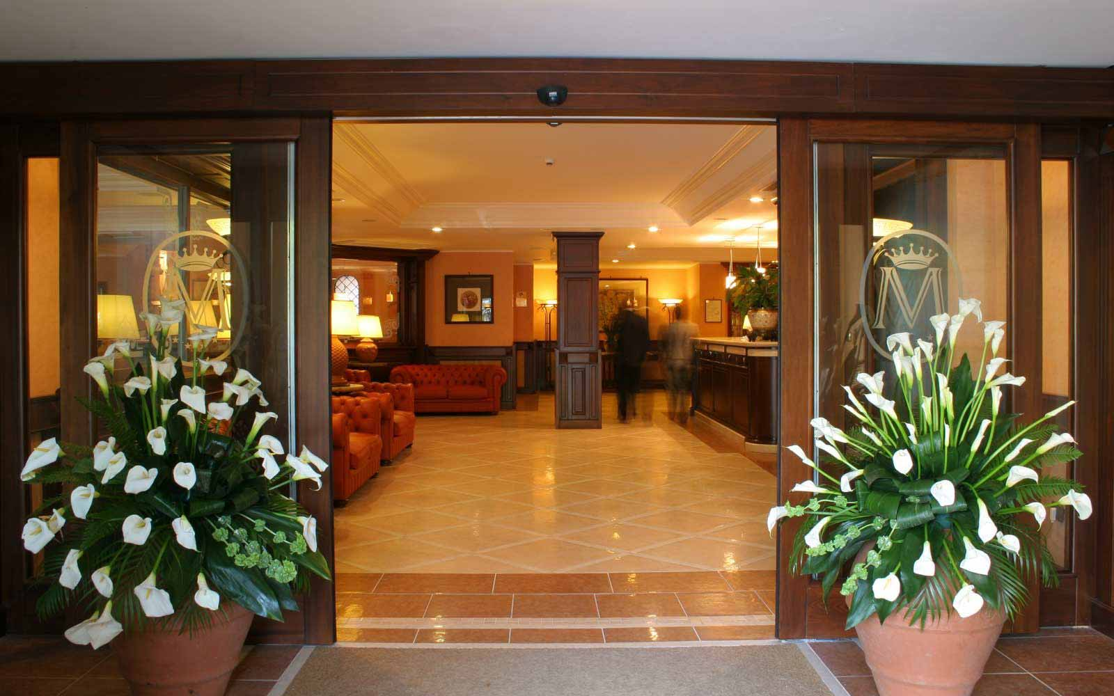 Entrance at Hotel Michelangelo