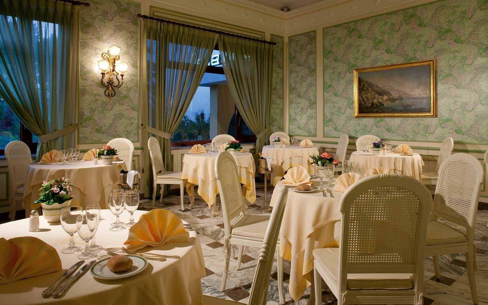 L'Altea restaurant at Grand Hotel de la Ville