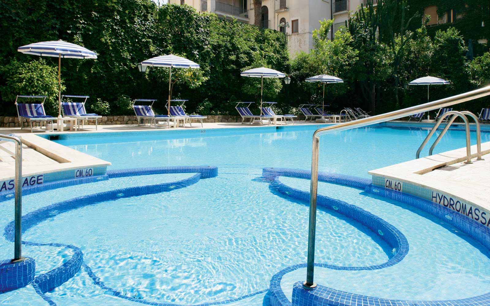 Main pool at Grand Hotel de la Ville