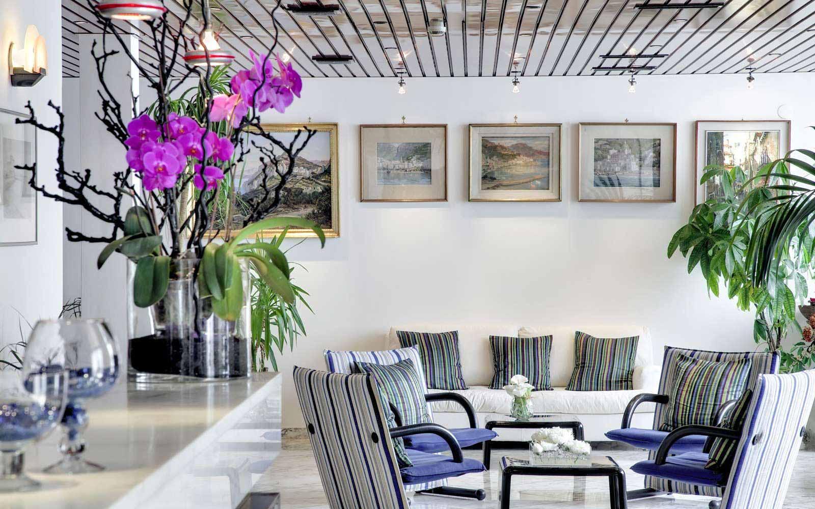 Lobby at Hotel Miramalfi