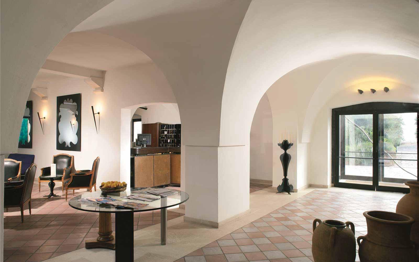Reception at Grand Hotel Masseria Santa Lucia