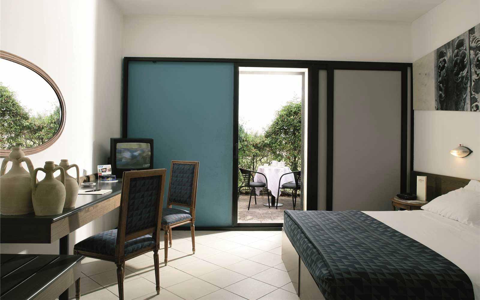 Standard room at the Grand Hotel Masseria Santa Lucia