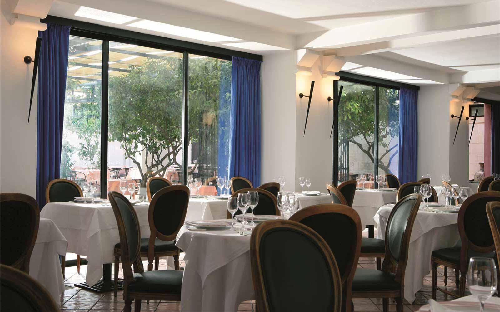 Restaurant at the Grand Hotel Masseria Santa Lucia