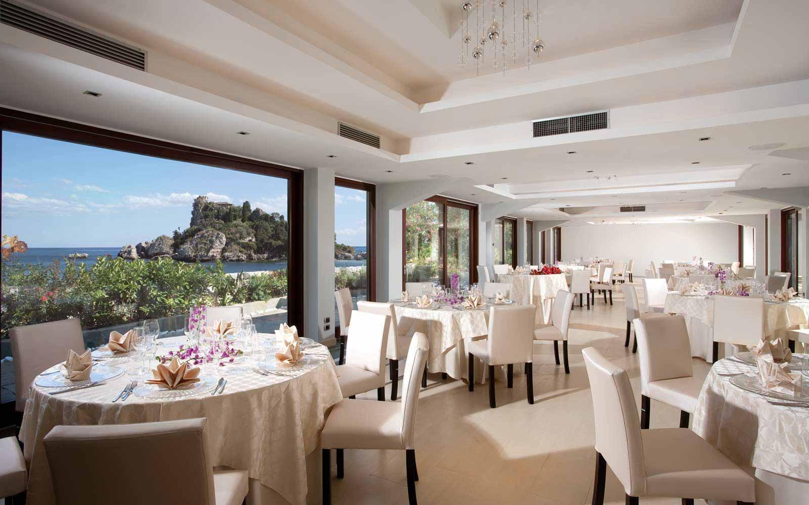 The Fusion restaurant at La Plage Resort