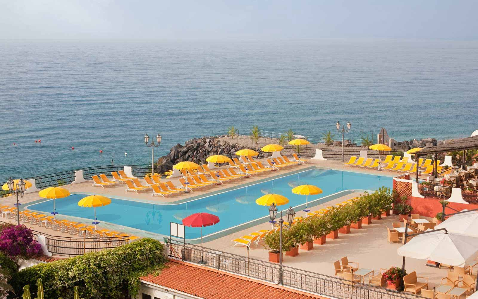 The pool at Hilton Giardini Naxos