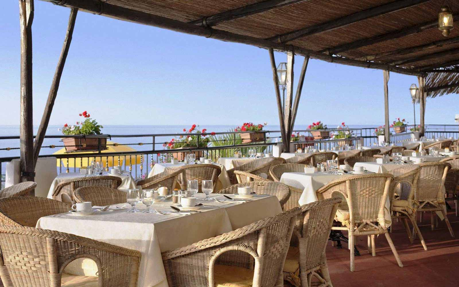 Panarea restaurant at the Hilton Giardini Naxos