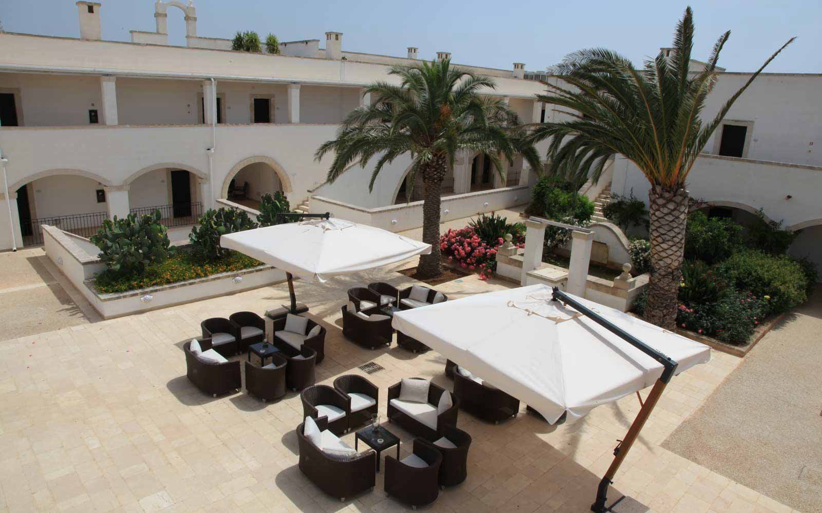 Courtyard at Borgobianco Resort & Spa
