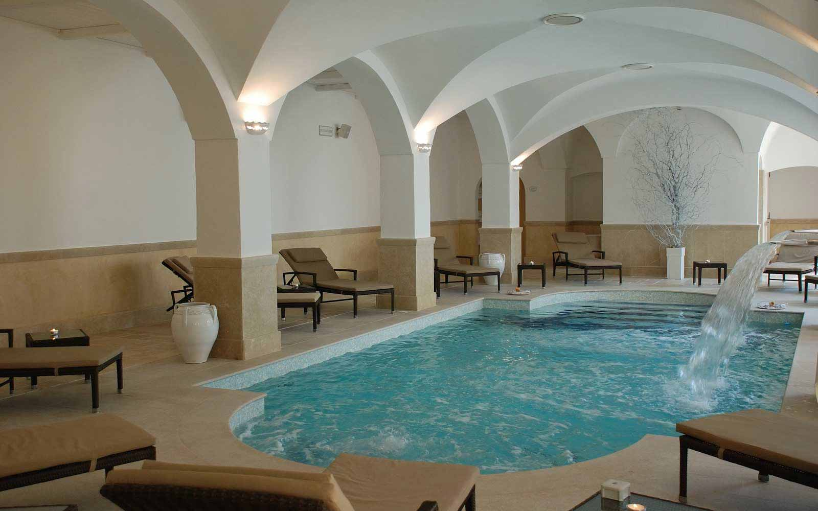 Unica wellness centre at Borgobianco Resort & Spa