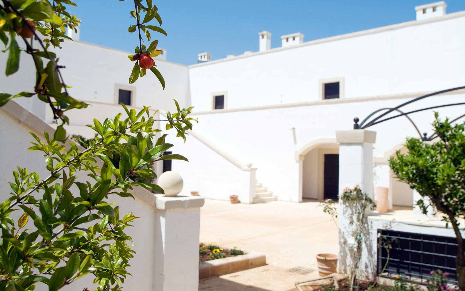 Apulian Masseria style at Borgobianco Resort & Spa