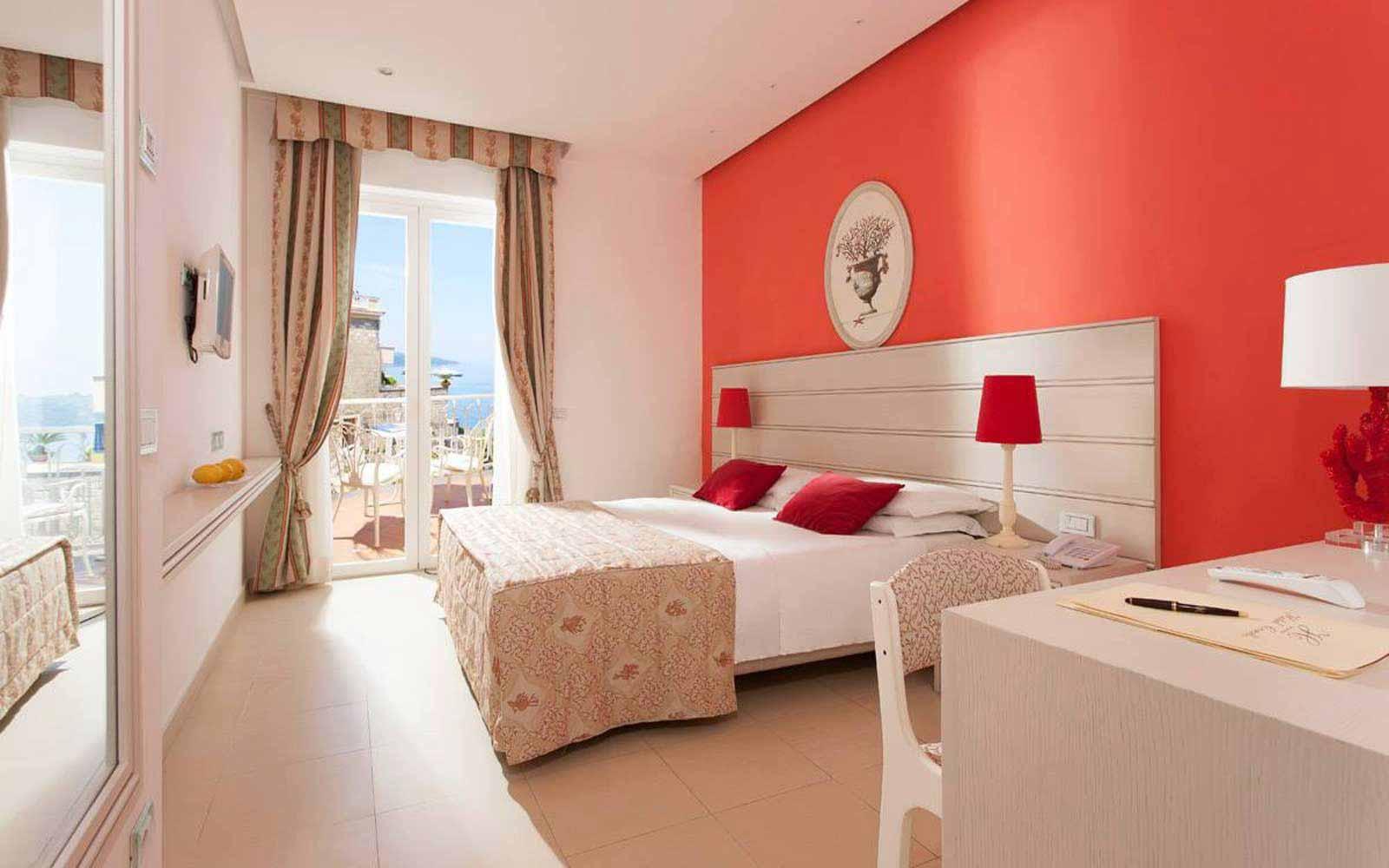 Superior room at Hotel Corallo