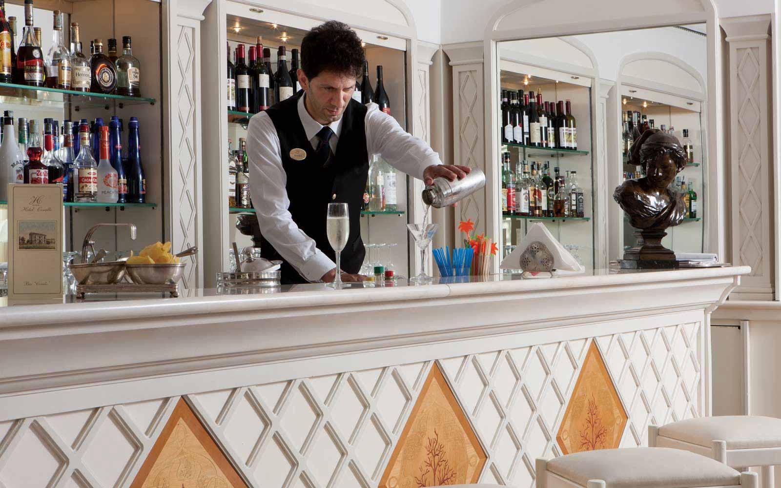 American Bar Lounge at Hotel Corallo
