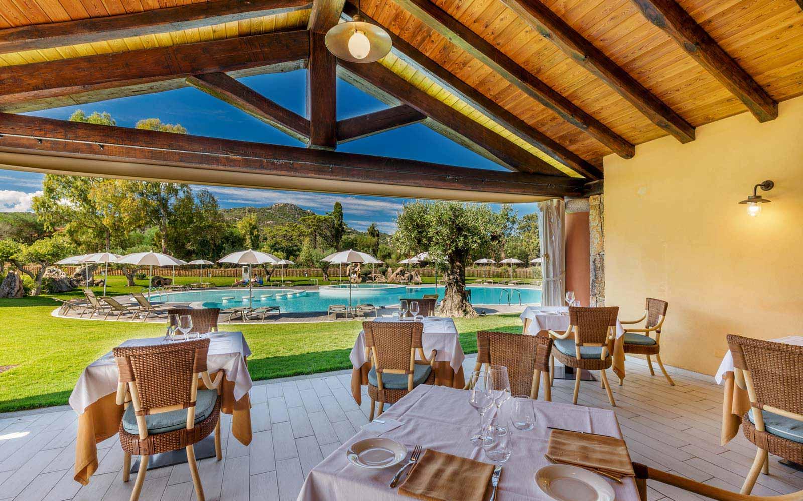 Restaurant at Hotel Marana
