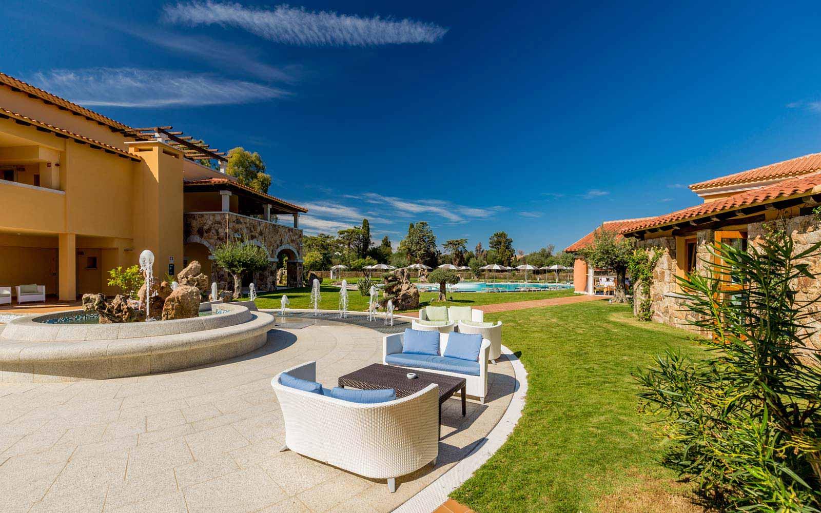 Relax area at Hotel Marana