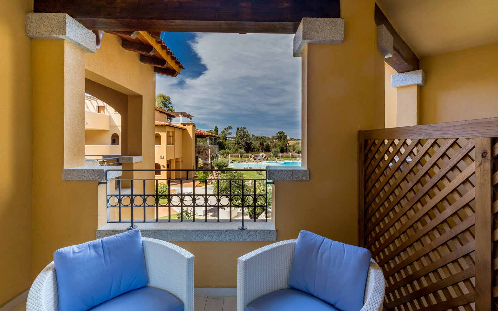 Relax terrace at Hotel Marana