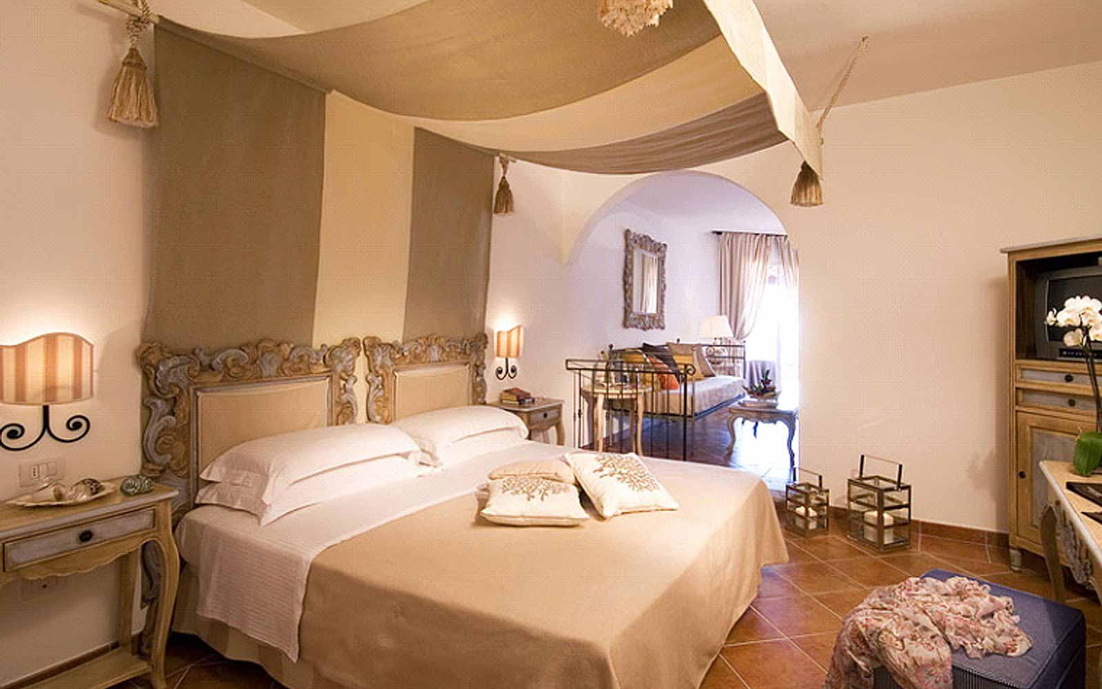 Junior Suite at the Colonna Grand Hotel Capo Testa