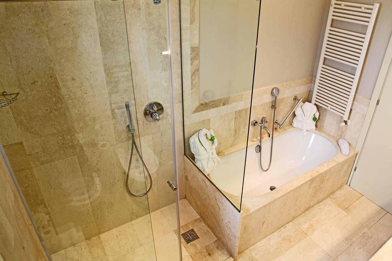 Comfort room's bathroom at Grande Baia Resort & Spa