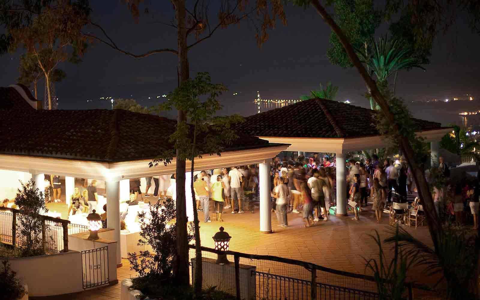 Discotheque at Arbatax Park Resort