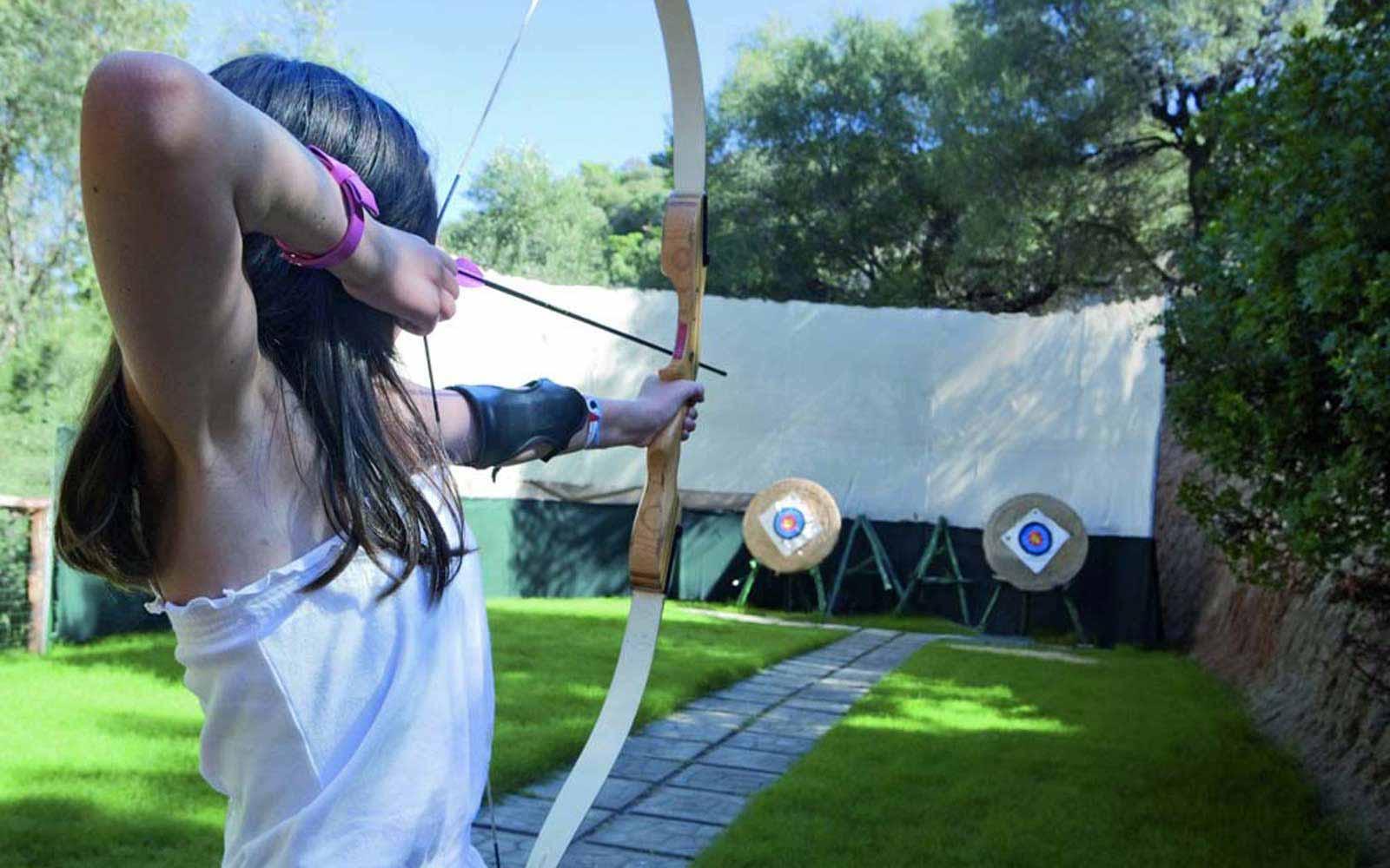 Archery at Arbatax Park Resort