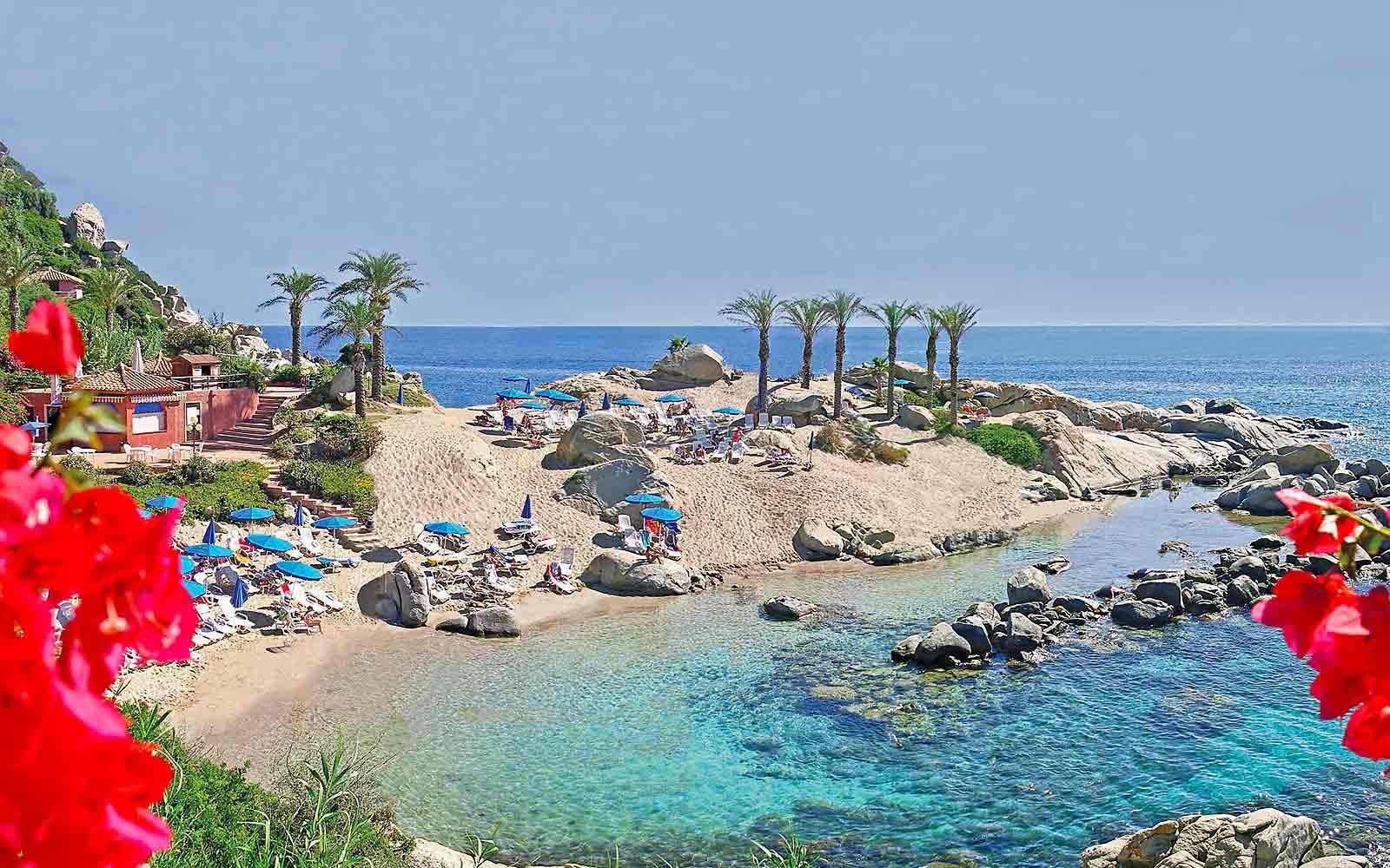 Le Palme beach at Arbatax Park Resort