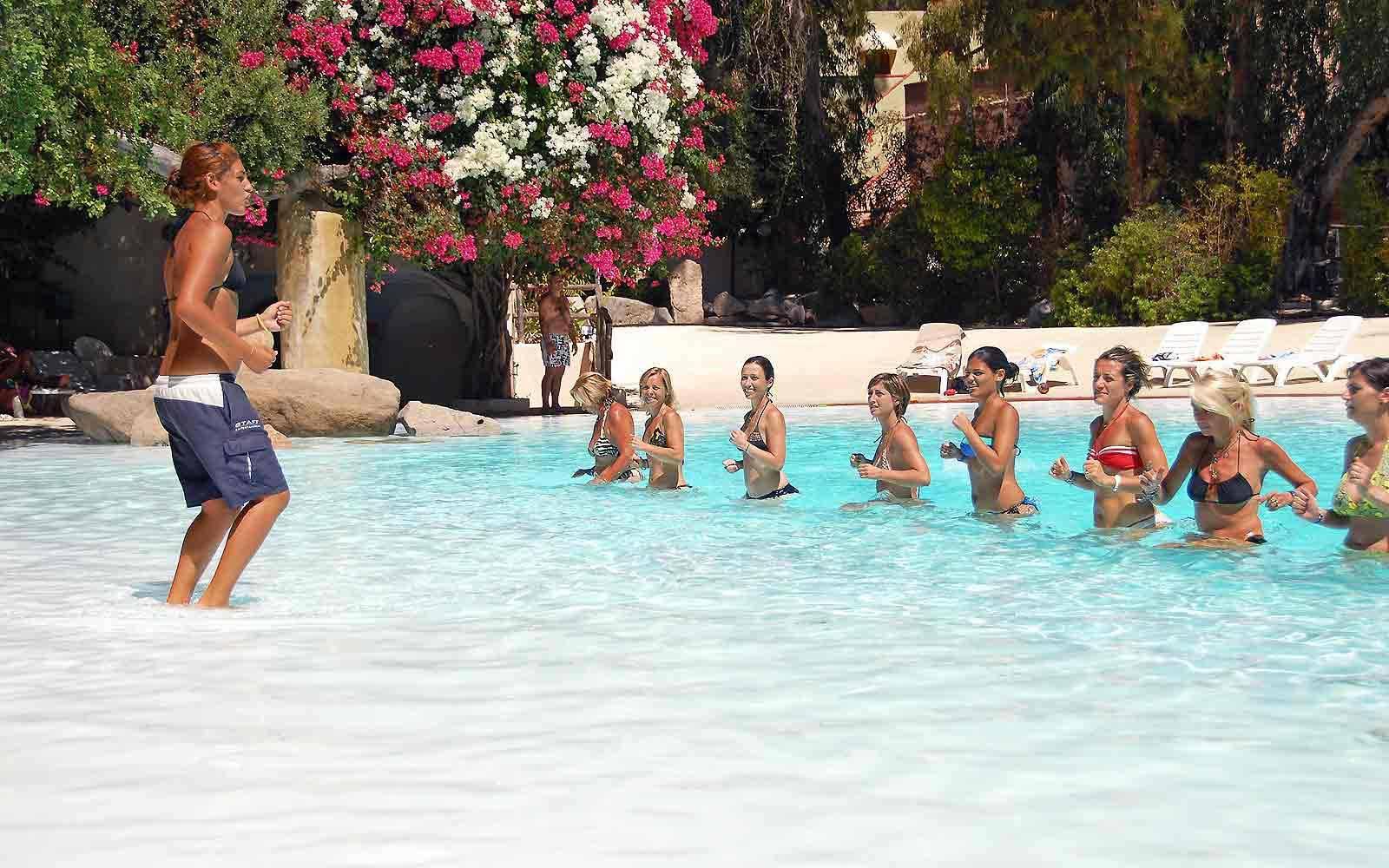 Aquagym at Arbatax Park Resort