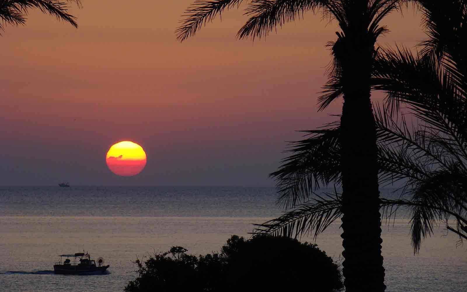 Sunset at Arbatax Park Resort - Telis