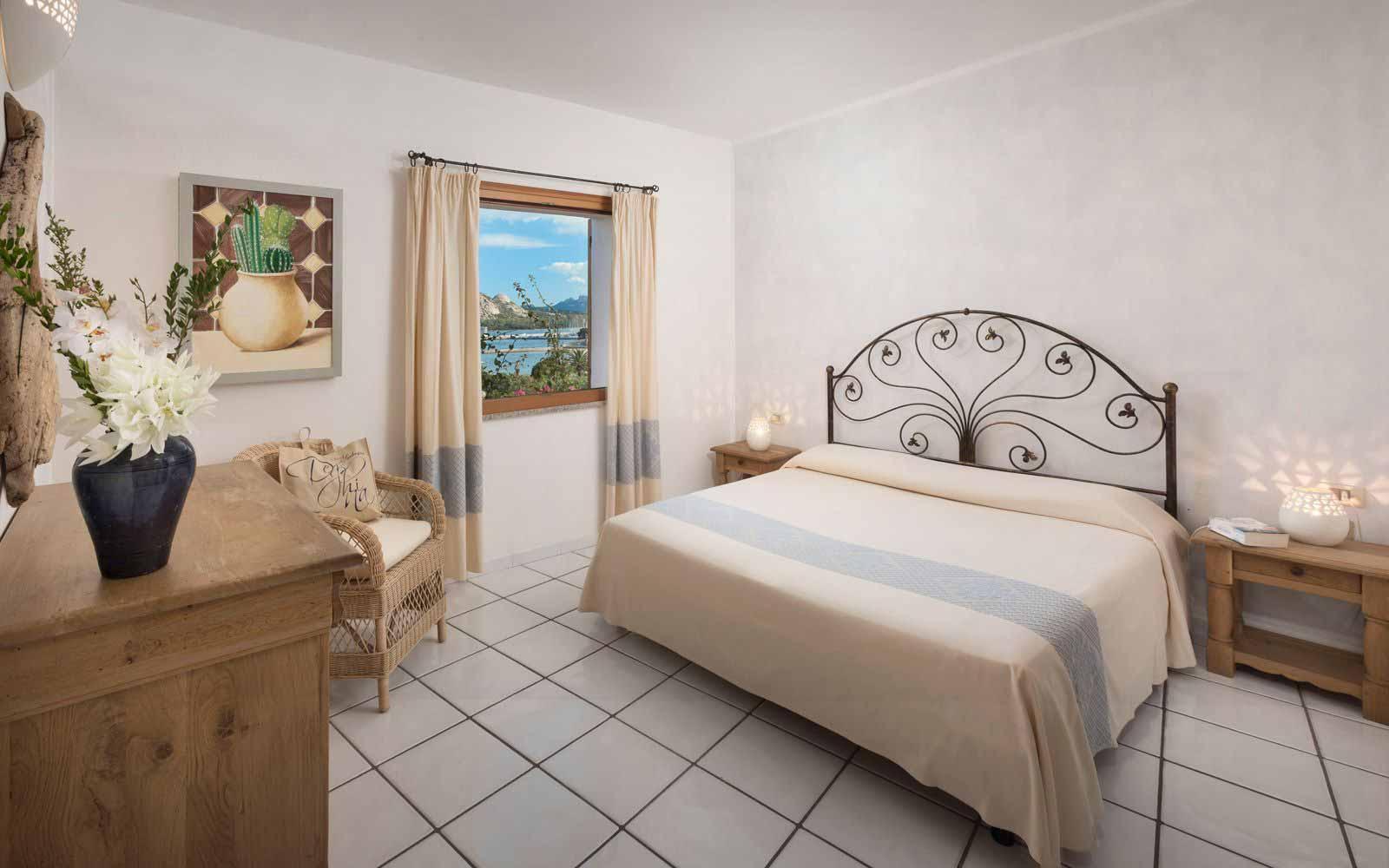 Bedroom at Resort Cala di Falco - Villas